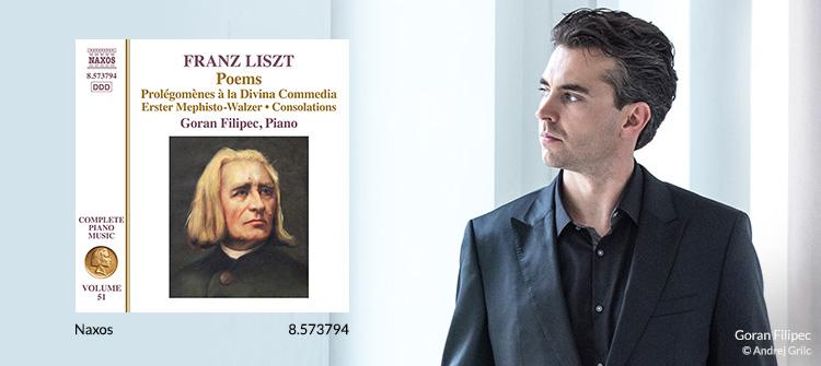 LISZT, F.: Poems - Après une lecture du Dante / Mephisto Waltz No. 1 / Consolations (1st version) (Liszt Complete Piano Music, Vol. 51)