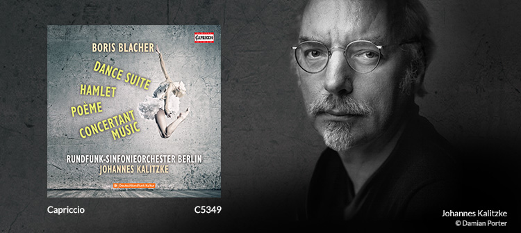 BLACHER, B.: Orchestral Dances / Hamlet / Poème / Concertante Musik