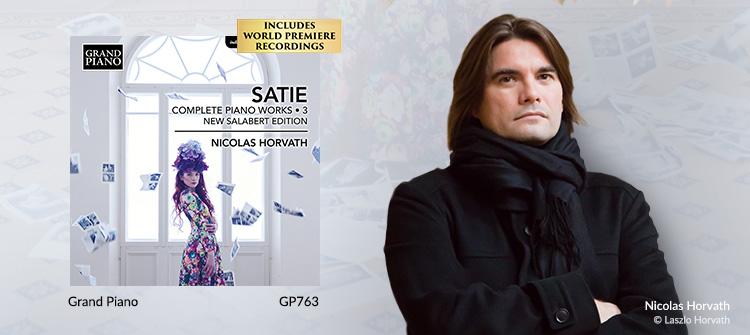 SATIE, E.: Piano Works (Complete), Vol. 3 (New Salabert Edition)